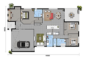 The Blue Amazon - Floorplan